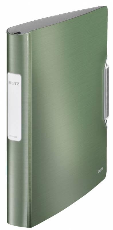 Billede af Ringbind Leitz Style plast A4 4DR 30mm celadon grøn