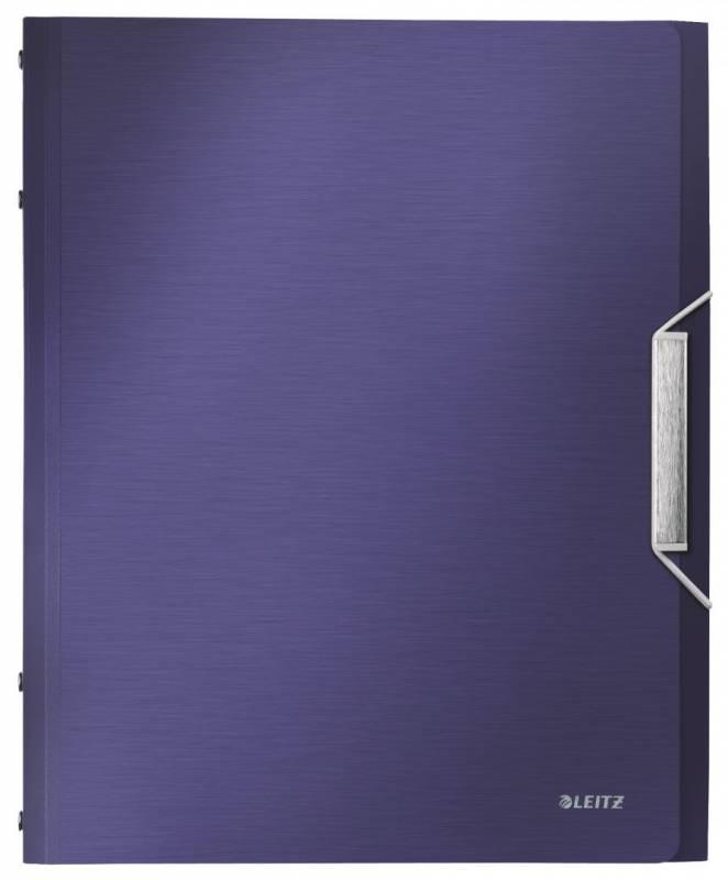 Image of   Sorteringsmappe Leitz Style PP 6-delt blå