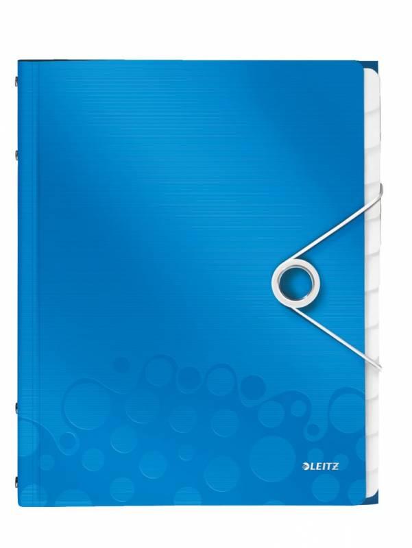 Image of   Sorteringsmappe Leitz WOW PP 12-delt blå