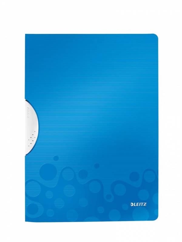 Image of   Universalmappe Leitz WOW A4 ColorClip PP blå
