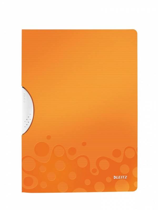 Image of   Universalmappe Leitz WOW A4 ColorClip PP orange