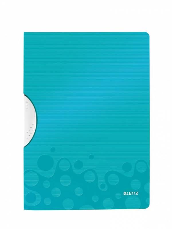 Image of   Universalmappe Leitz WOW A4 ColorClip PP isblå