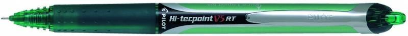 Billede af Roller Pilot Hi-Tecpoint V5 RT grøn stregbrd. 0,3mm