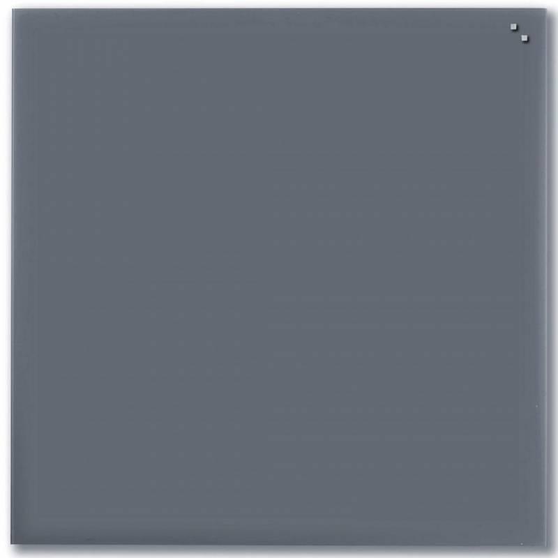 Image of   Glastavle Naga magnetisk 1000x1000mm grå