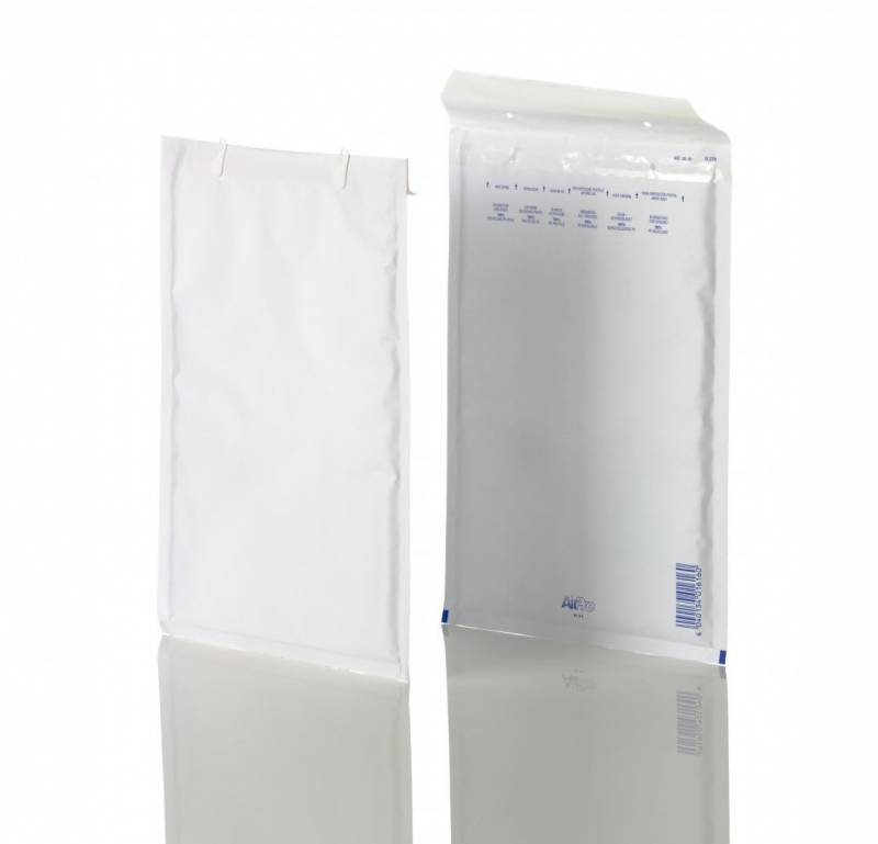 Boblepose W6 AirPro hvid 240x350mm No. 16/G 100stk/pak