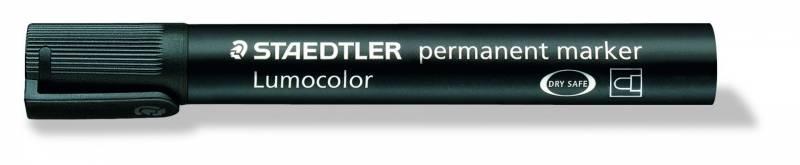 Image of   Marker STAEDTLER Lumocolor 352 permanent sort 2mm bullet 352-9
