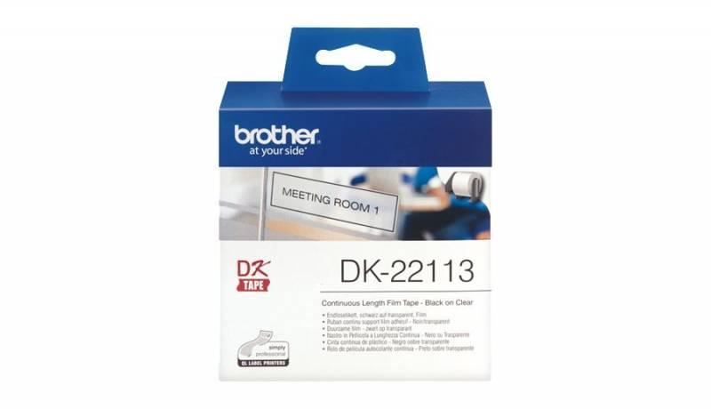 Billede af Label Brother klar DK22113 15,24mx62mm filmtape