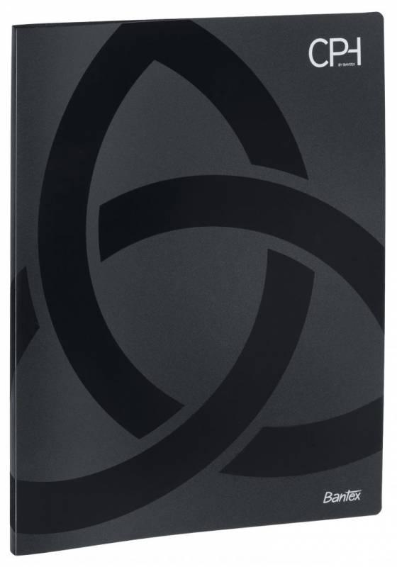 Image of   Displaybog PP Bantex CPH sort 20 lommer