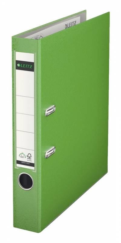 Billede af Brevordner Leitz 180 PP A4 50mm lys grøn