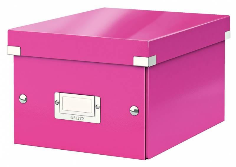 Billede af Arkivboks Leitz Click&Store WOW pink small