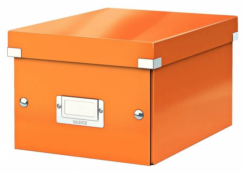Image of   Arkivboks Leitz Click&Store WOW orange small