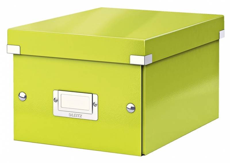 Billede af Arkivboks Leitz Click&Store WOW grøn small