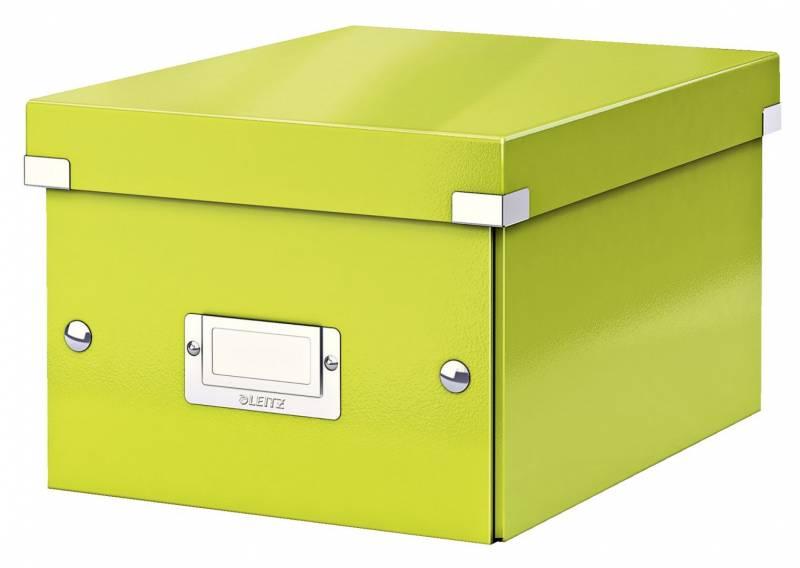 Image of   Arkivboks Leitz Click&Store WOW grøn small