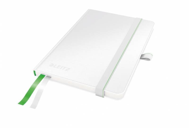 Billede af Notesblok Leitz Complete A6 linieret 80 perf. blade hvid