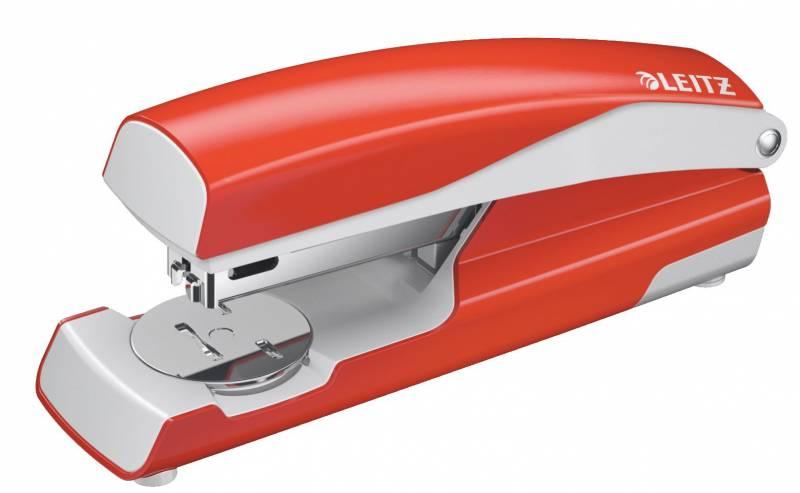 Image of   Hæftemaskine Leitz 5502 30ark lys rød