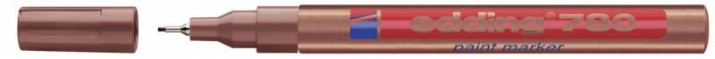 Billede af Marker Edding 780 kobber 0,8mm metalindfattet spids