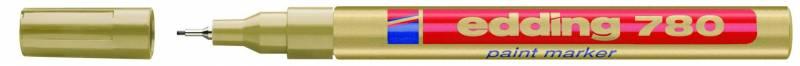 Billede af Marker Edding 780 guld 0,8mm metalindfattet spids