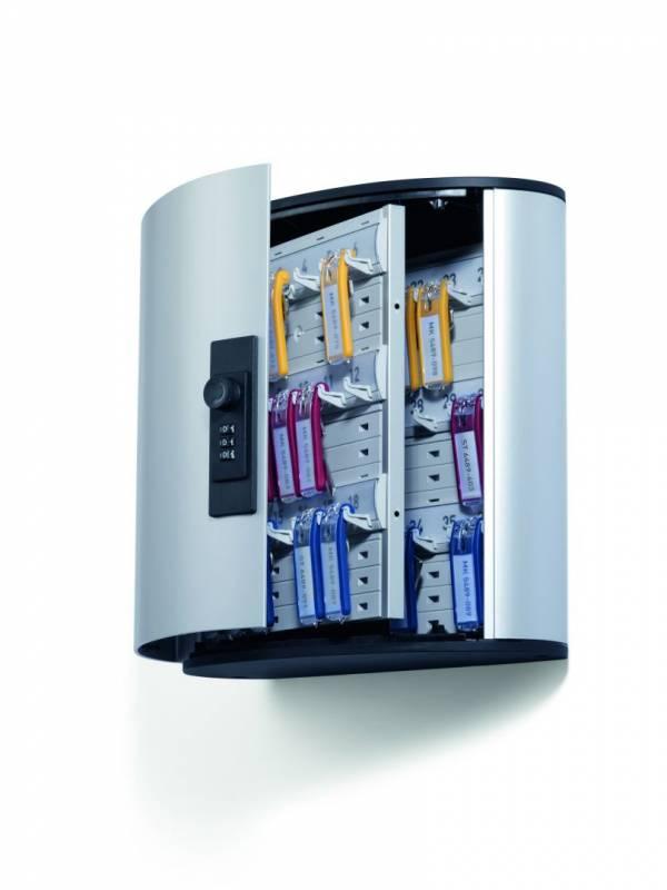 Image of   Nøgleskab Durable Keybox 36 alu til 36 nøgler kodelås