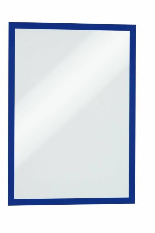 Image of   Skilt DURAFRAME® MAGNETIC A3 m/blå ramme 5stk/pak