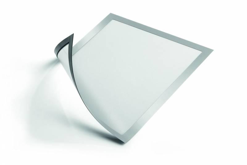 Image of   Skilt DURAFRAME® MAGNETIC A4 m/sølv ramme 5stk/pak