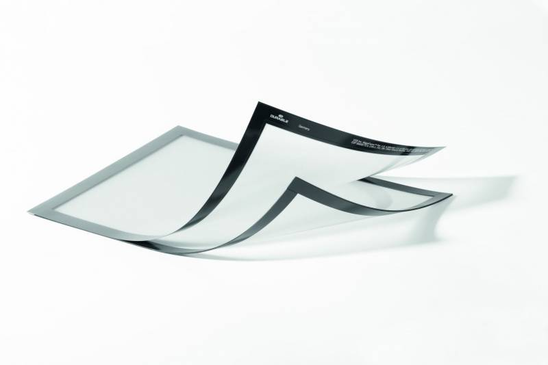 Image of   Skilt DURAFRAME® MAGNETIC PLUS A4 m/sølv ramme 2stk/pak