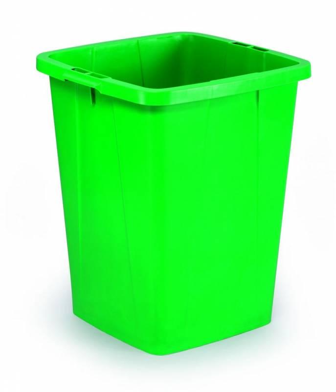 Billede af Affaldsspand DURABIN 90l firkantet grøn