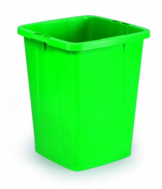 Image of   Affaldsspand DURABIN 90l firkantet grøn