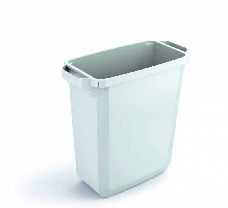Billede af Affaldsspand DURABIN 60l rektangulær hvid
