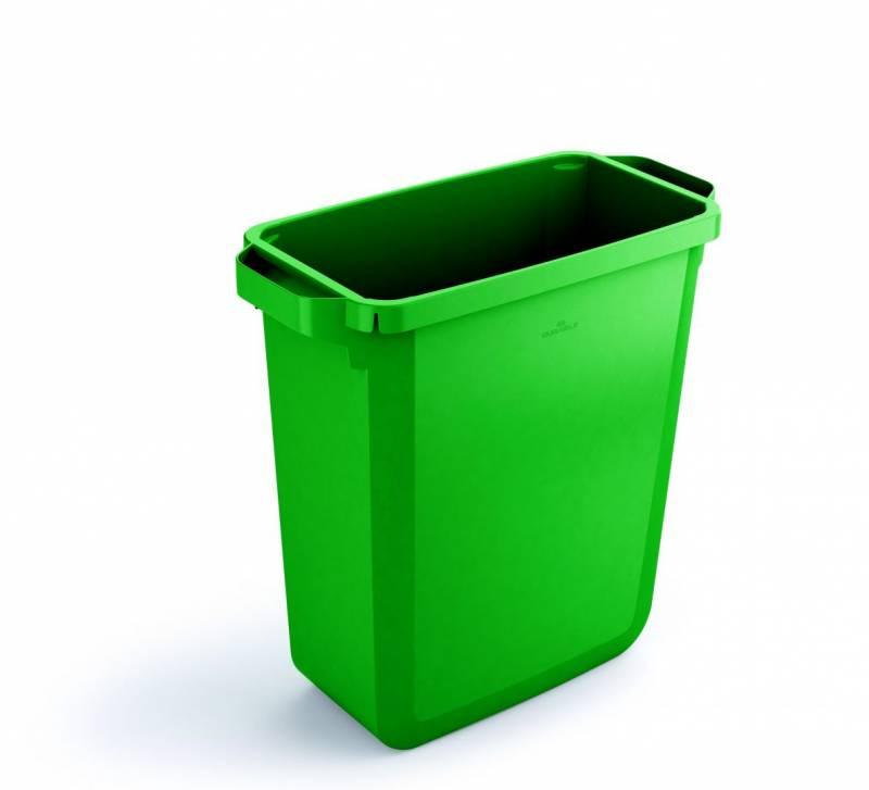 Billede af Affaldsspand DURABIN 60l rektangulær grøn