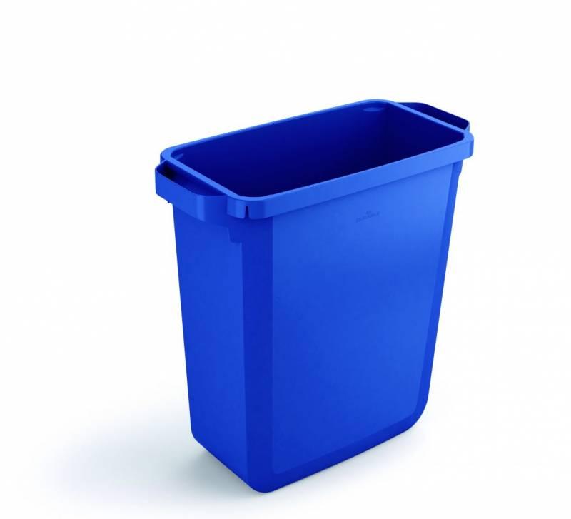 Billede af Affaldsspand DURABIN 60l rektangulær blå