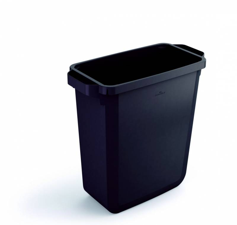 Image of   Affaldsspand DURABIN 60l rektangulær genbrug sort