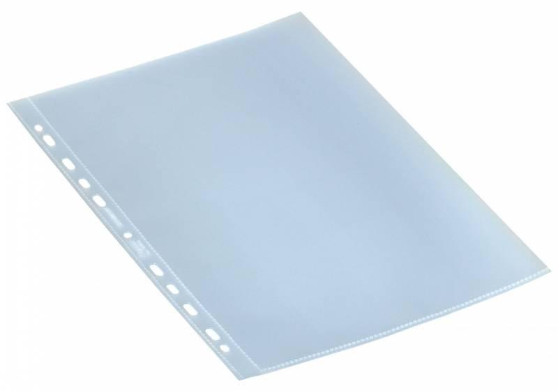Billede af Plastlommer Bantex A4 0,11mm åben top 100stk/pak
