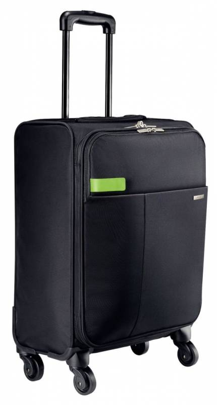 Image of   Trolley Smart Traveller 4 hjul sort