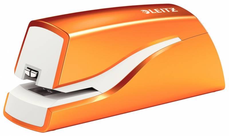 Billede af Hæftemaskine batteri Leitz WOW orange