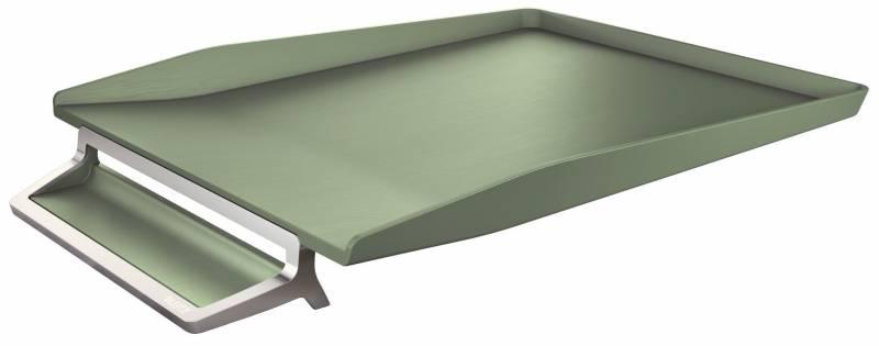 Image of   Brevbakke Leitz Style alu celadon grøn