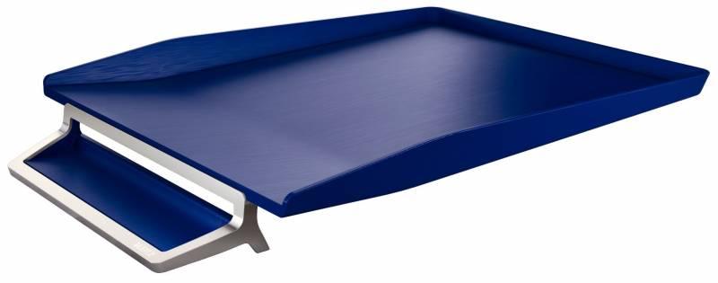 Image of   Brevbakke Leitz Style alu titan blå