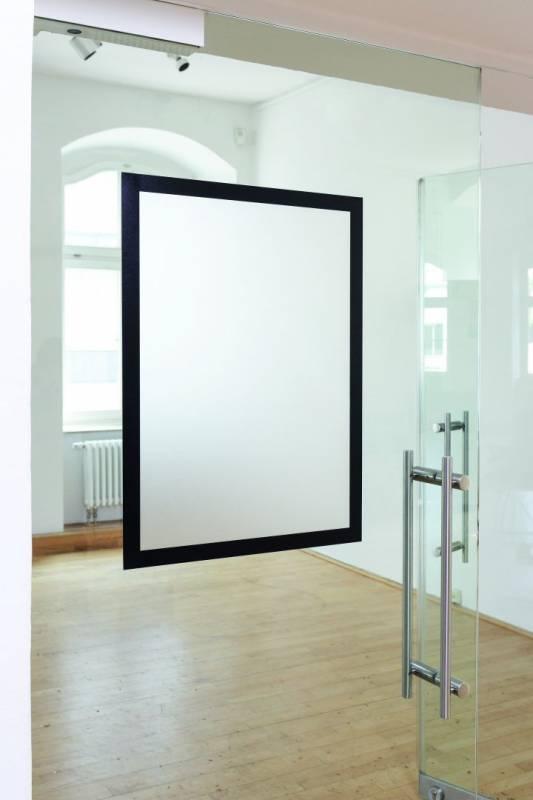Skilt DURAFRAME® Poster A2 m/sort ramme