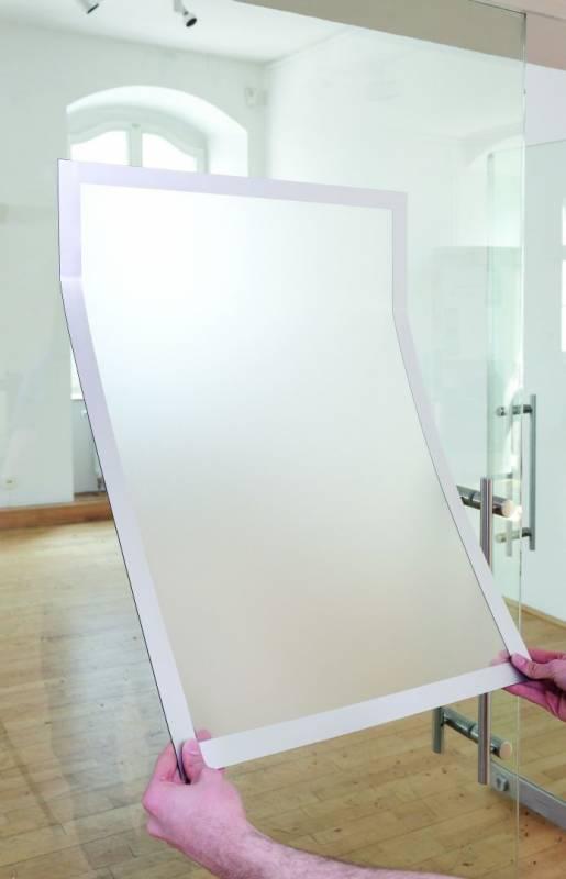 Image of   Skilt DURAFRAME® Poster A2 m/sølv ramme