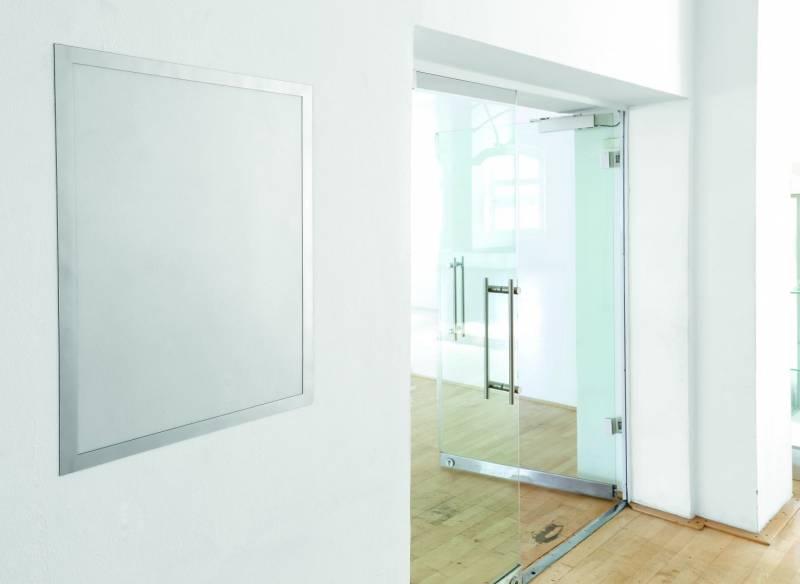 Skilt DURAFRAME® Poster 50x70cm m/sølv ramme