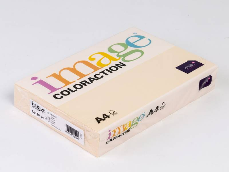Image of   Kopipapir Image Coloraction A4 80g cream 13 500ark/pk