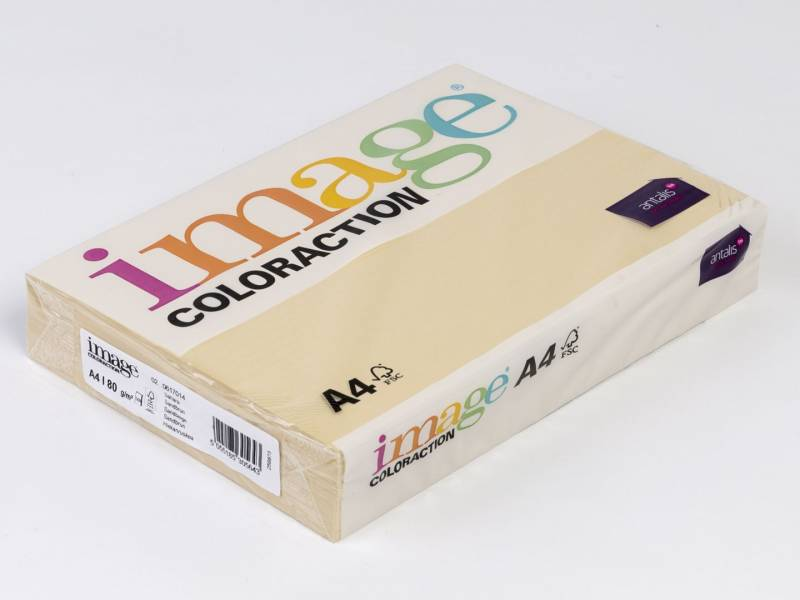 Image of   Kopipapir Image Coloraction A4 80g sand beige 14 500ark/pk