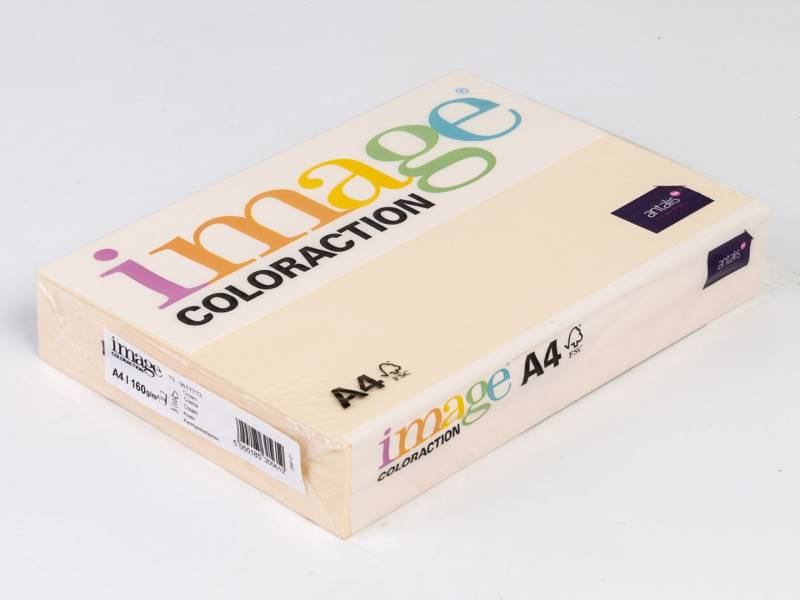 Image of   Kopipapir Image Coloraction A4 160g cream 13 250ark/pk