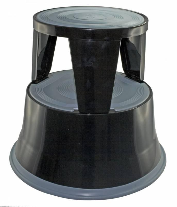 Image of   Elefantfod metal bnt/Office sort højde 410mm