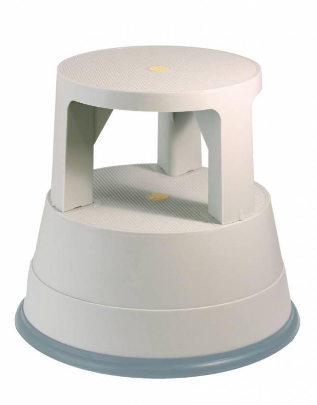 Image of   Elefantfod plast bnt/Office grå højde 390mm