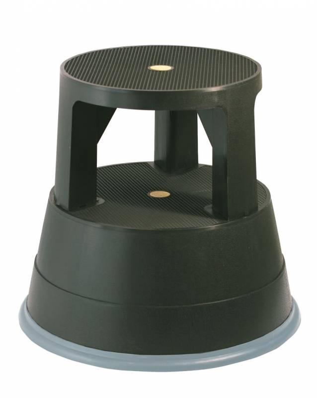 Image of   Elefantfod plast bnt/Office sort højde 390mm
