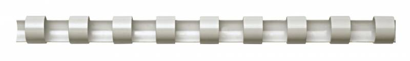 Image of   Spiralrygge Fellowes 51mm hvid A4 21 ringe 411-450ark 100stk/pak