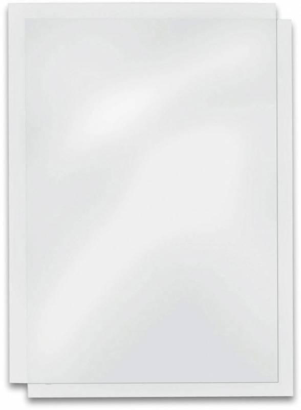Image of   Plastforside til indbinding PVC Fellowes A4 0,2mm klar 100stk/pak
