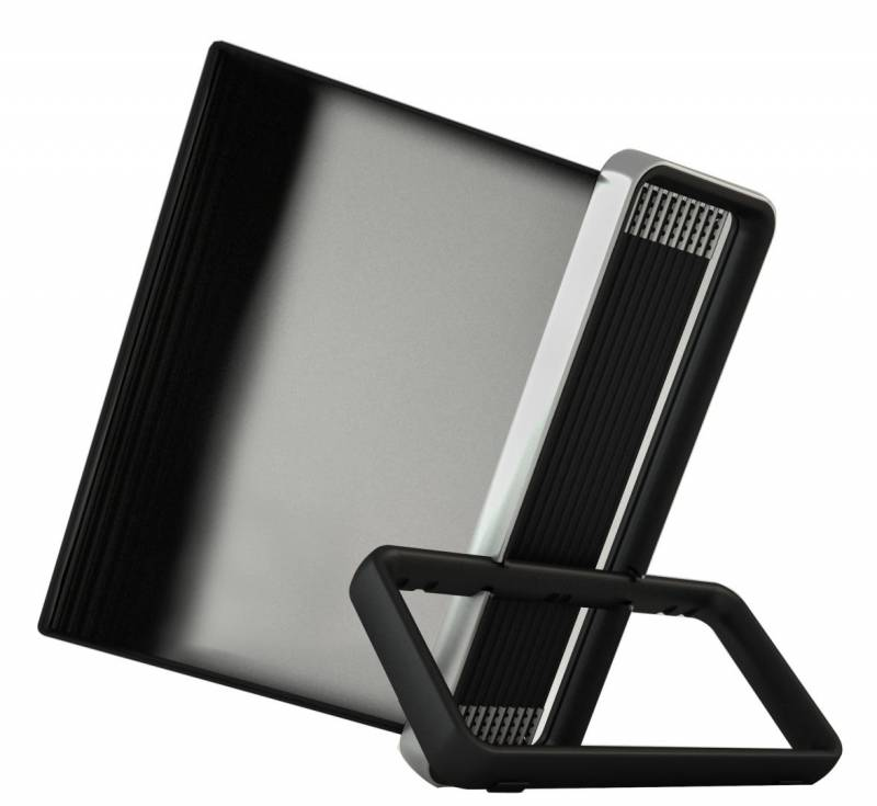 Billede af Registersystem Tarifold VEO A4 sort 10 lommer t/bord