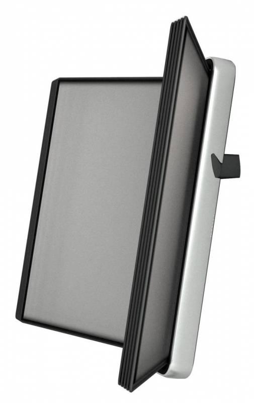 Billede af Registersystem Tarifold VEO A4 sort 10 lommer t/væg