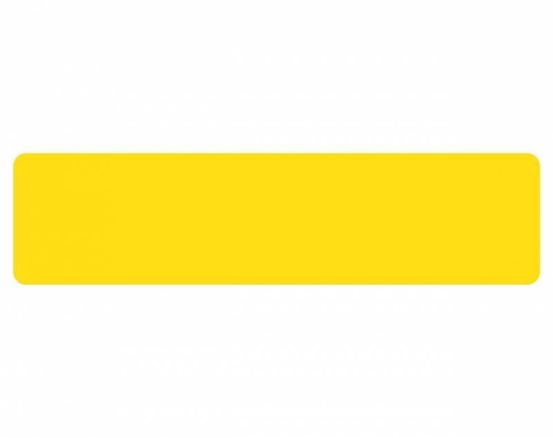 Billede af Gulvmærker striber gul bredde 50mm 10stk/pak